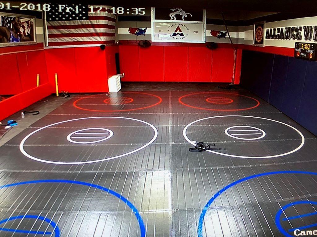 America Grappling Room Wrestling Mat At Home Gym Wrestling