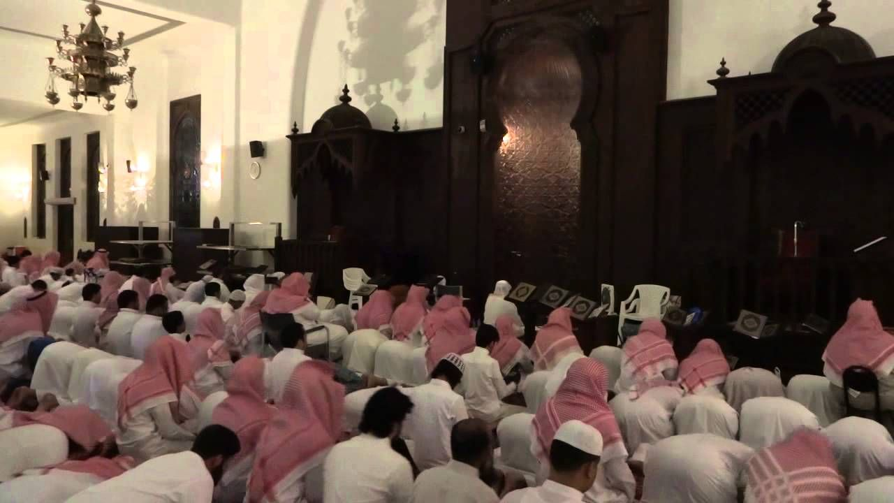 قال رب أرني أنظر إليك صلاة القيام كاملة مع القنوت للشيخ خالد الجليل ليلة 21 رمضان 1436 جودة عالية