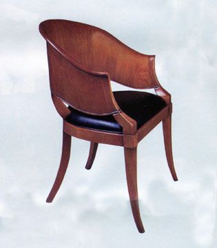 Superb This William Switzer Chair Is A Reproduction Of An 1860 Original And  Exemplifies The Biedermeier Style
