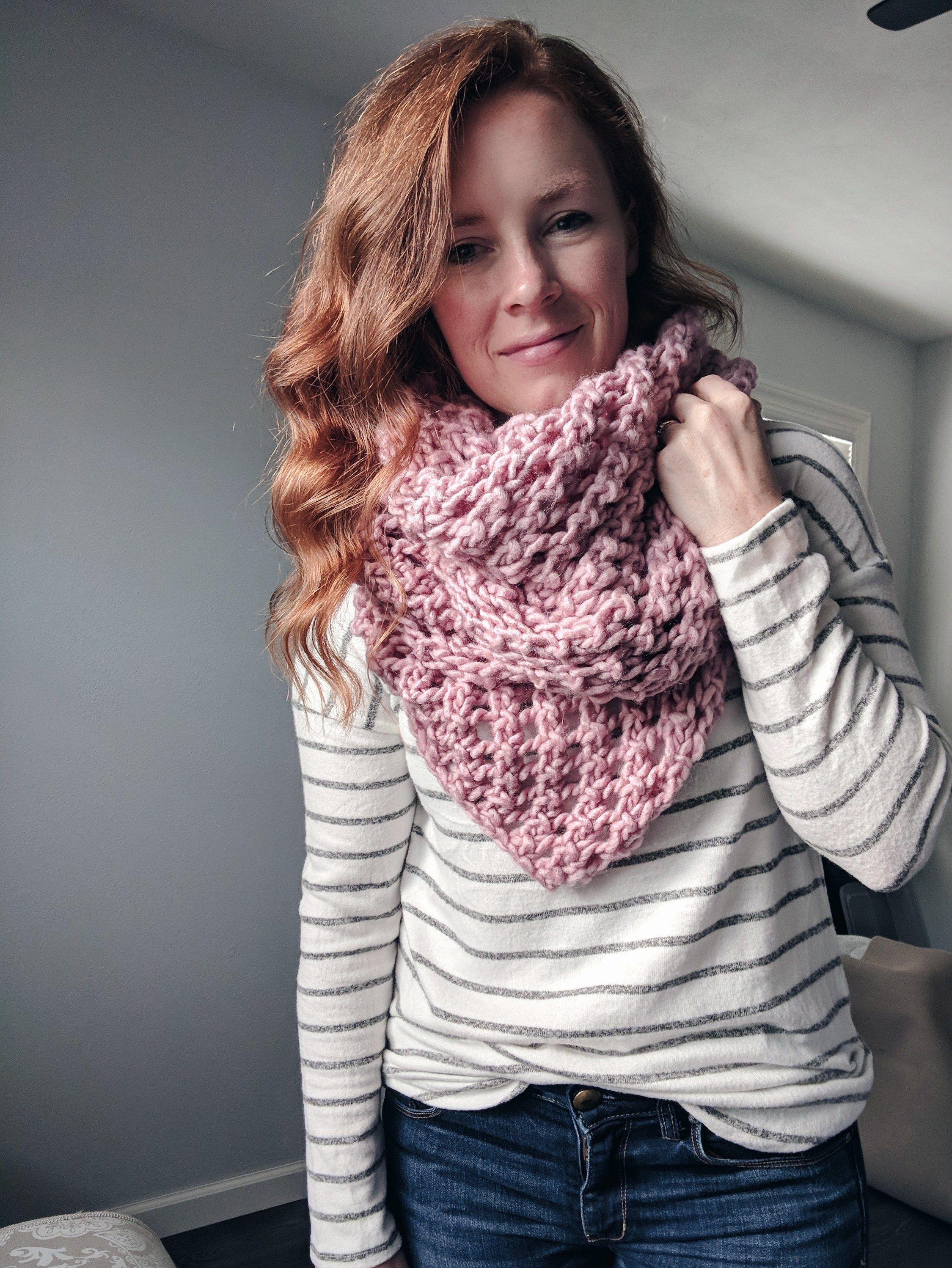 The Lattice Scarf Knitting Pattern   Knitting patterns ...