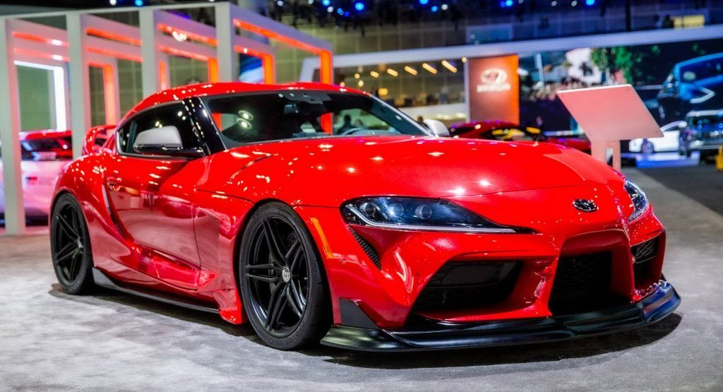 The Toyota Gr Supra Heritage Edition Is All We Want For Christmas Carscoops Toyota Supra New Toyota Supra Bmw Z4
