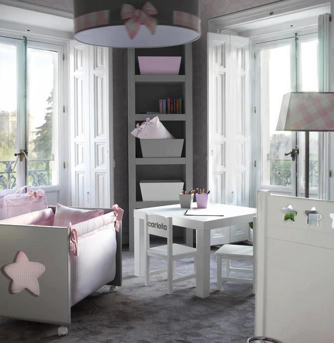 decordemon INSPIRATION LOVELY BABY ROOM IDEAS hanging loft bed for