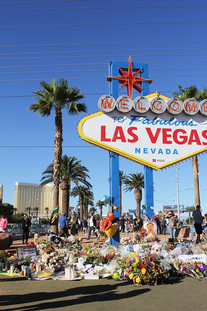 Visiting The Las Vegas Shooting Memorial Las Vegas Vacation Usa Family Vacations Usa
