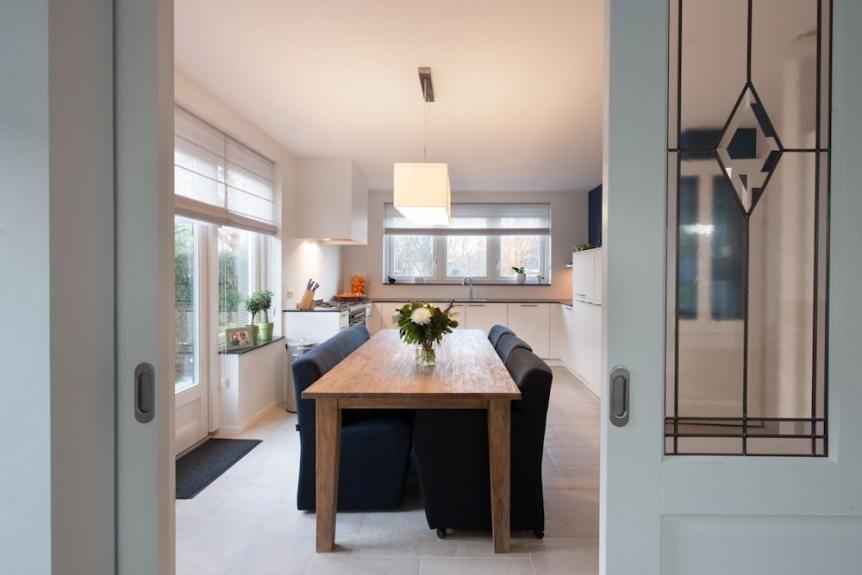 Atelier klassieke keuken trap interieur architect atelier