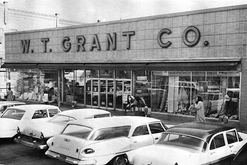 Wt grant company marion illinois the good old days