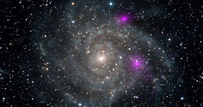 NuSTAR Catches Black Holes in Galaxy Web | Spiral galaxy ...