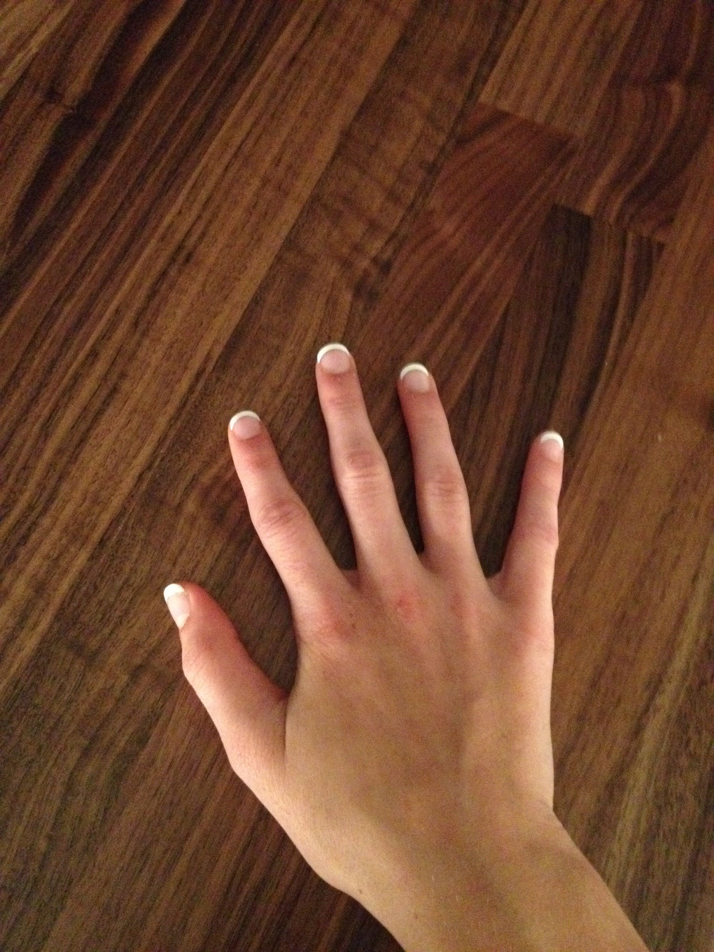 These are my real nails thanks to kiss everlasting French wrap kit ...