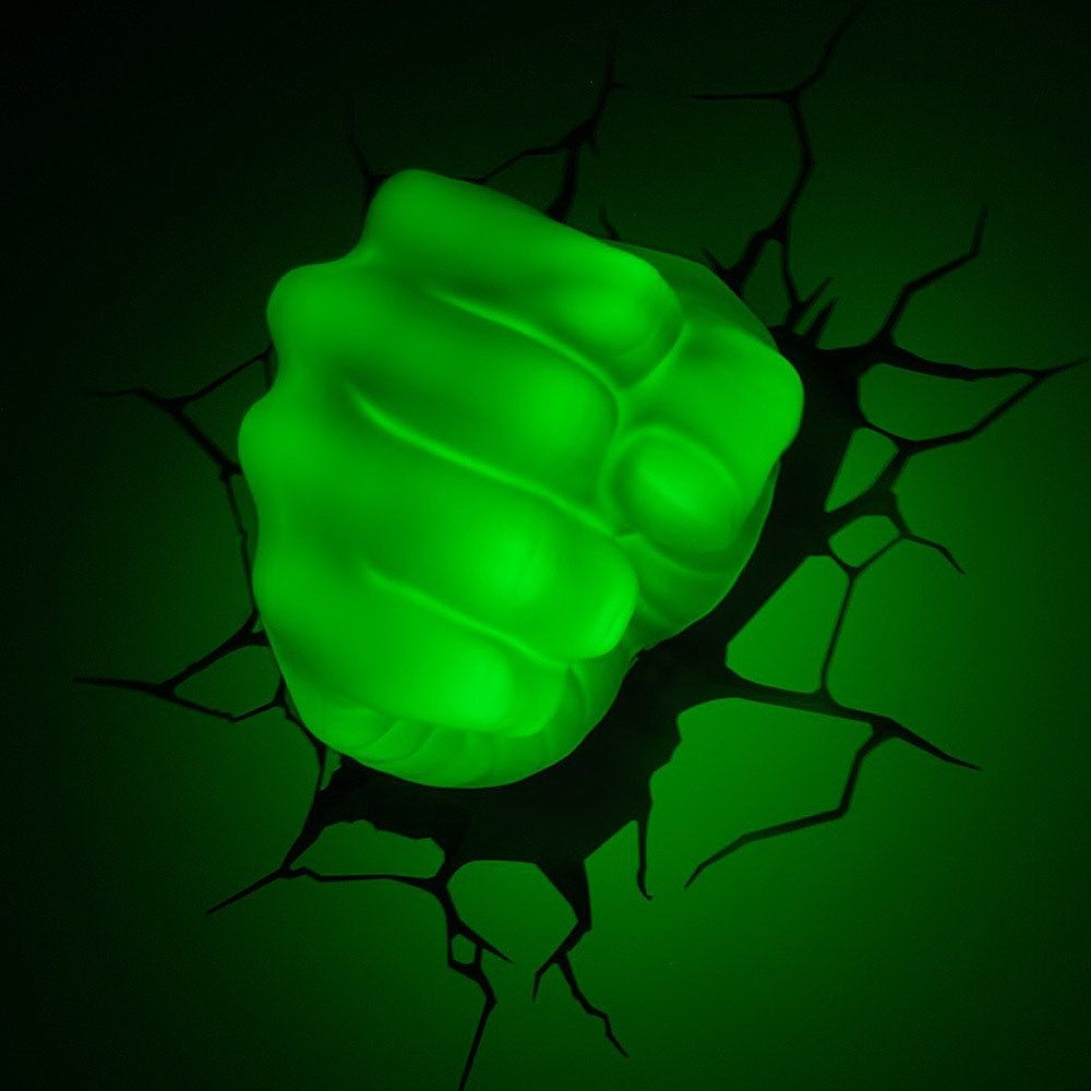 Luminária Hulk Punho R$229,90 Trekos& Cacarekos Iluminaç u00e3o Pinterest Lamp light