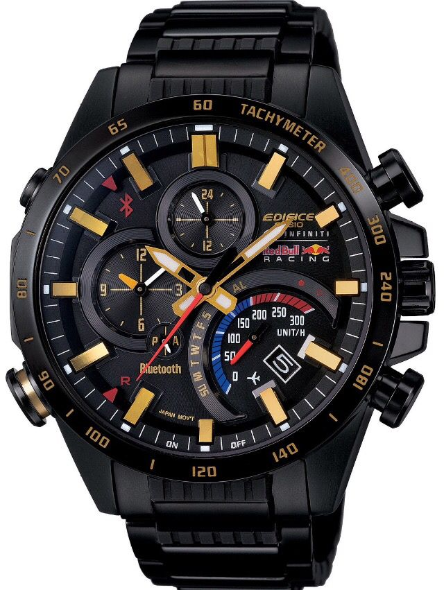 casio edifice red bull limited edition men watch. Black Bedroom Furniture Sets. Home Design Ideas