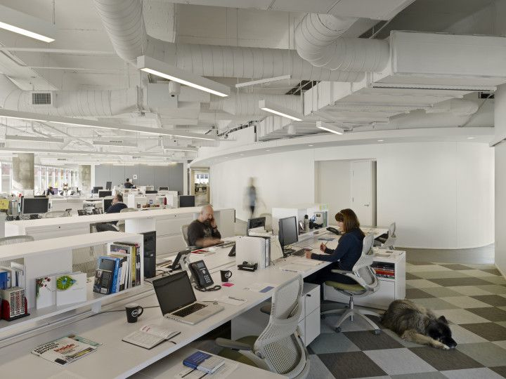 4000 Sq Ft Open Plan Office Design