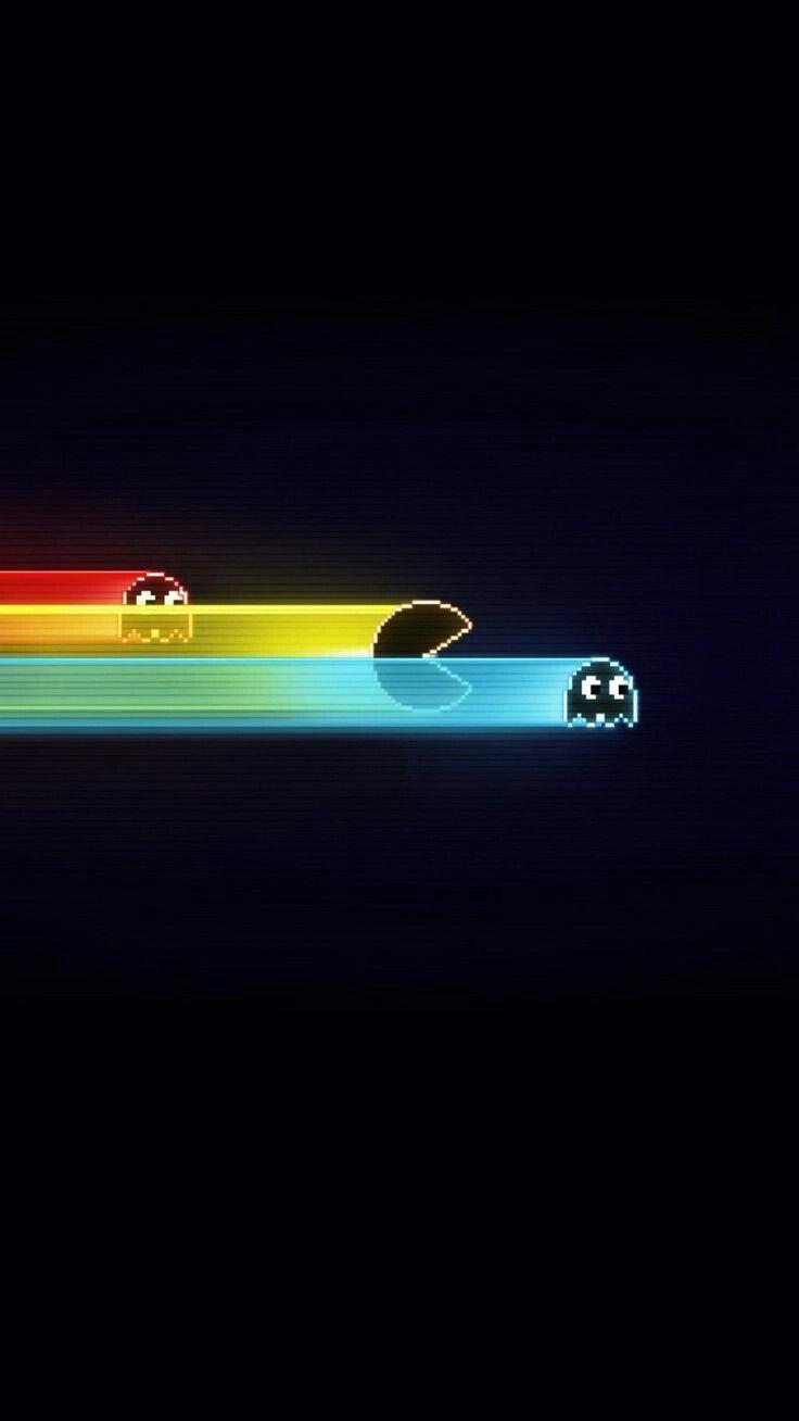 Pacman Wallpaper Wallpaper Ponsel
