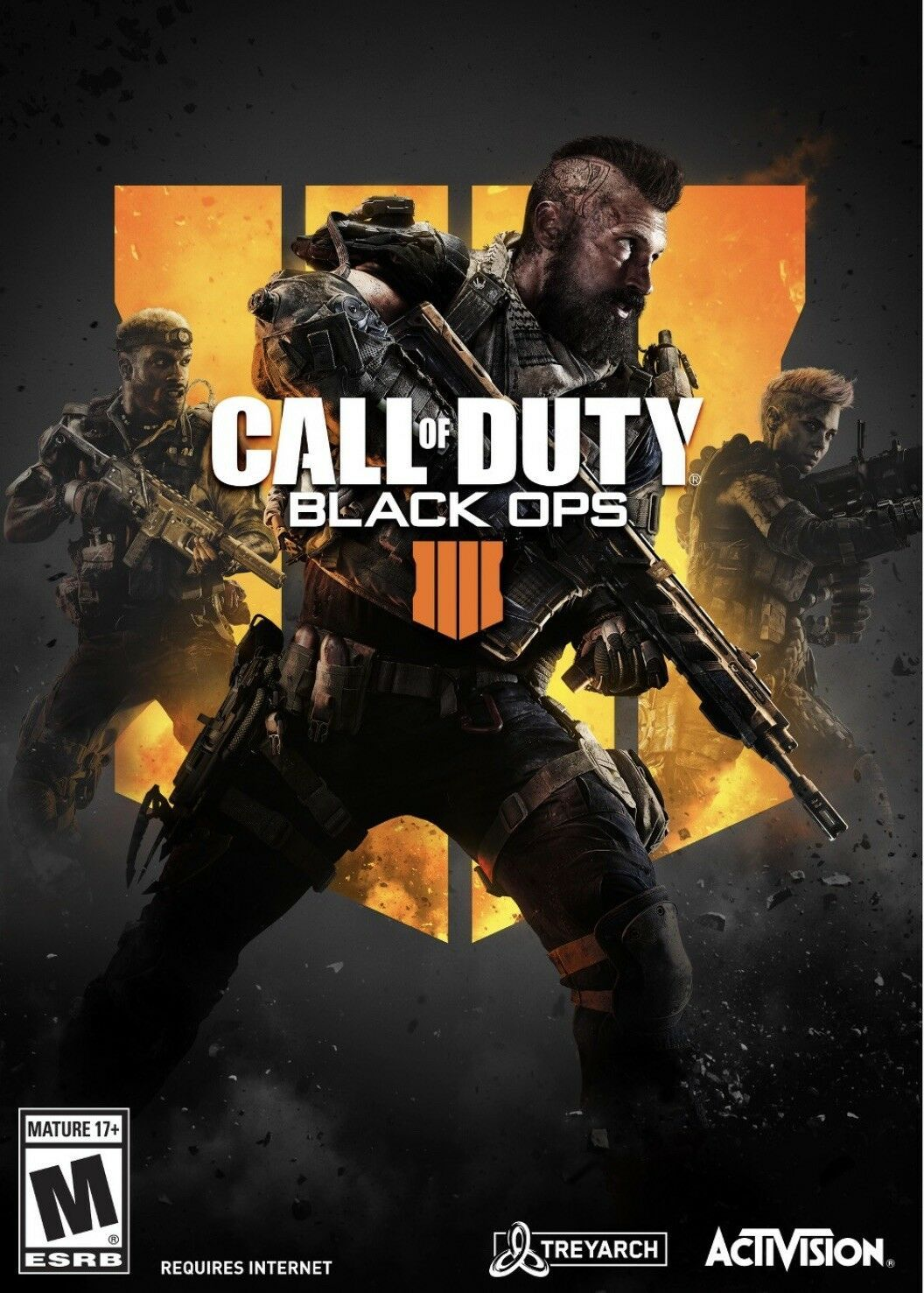 Call Of Duty Black Ops 4 Pc No Disc Included Factory Sealed 47875335615 Ebay Call Duty Black Ops Call Of Duty Black Black Ops