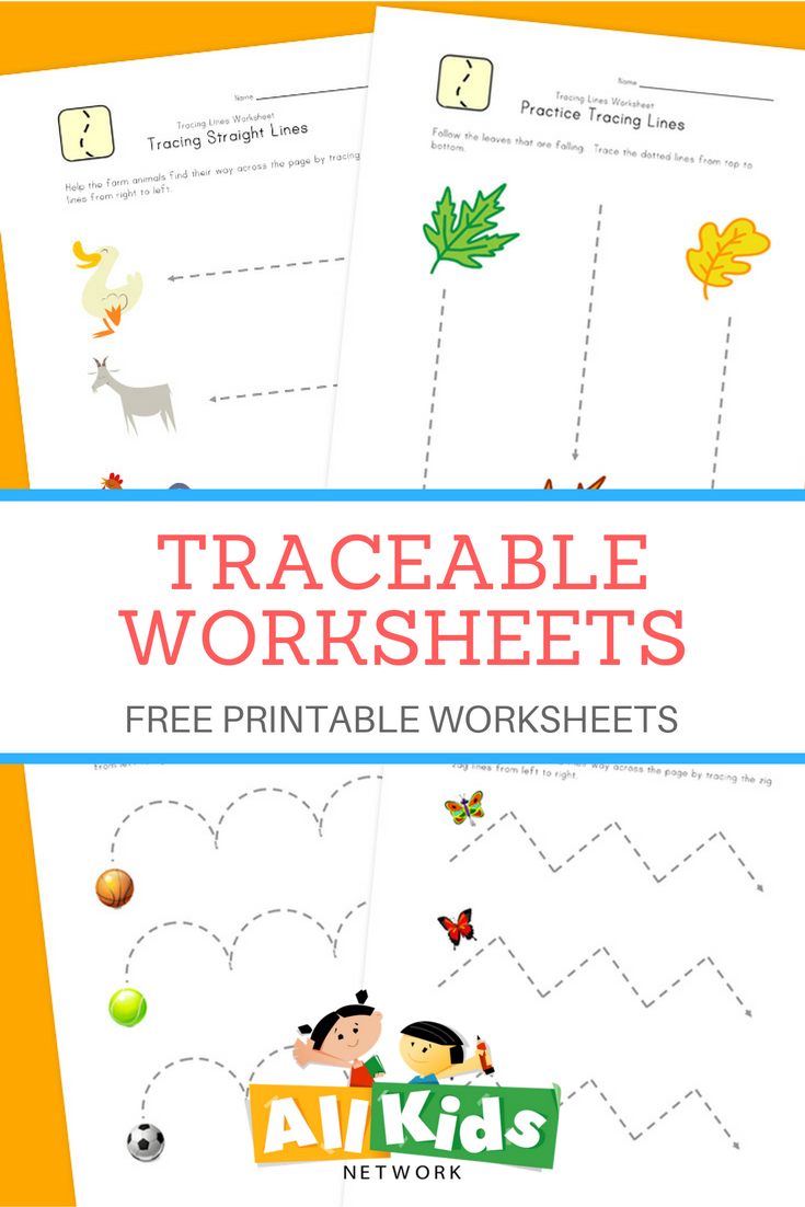 free tracing worksheets to help your children with fine motor skills and prepare for writing. Black Bedroom Furniture Sets. Home Design Ideas
