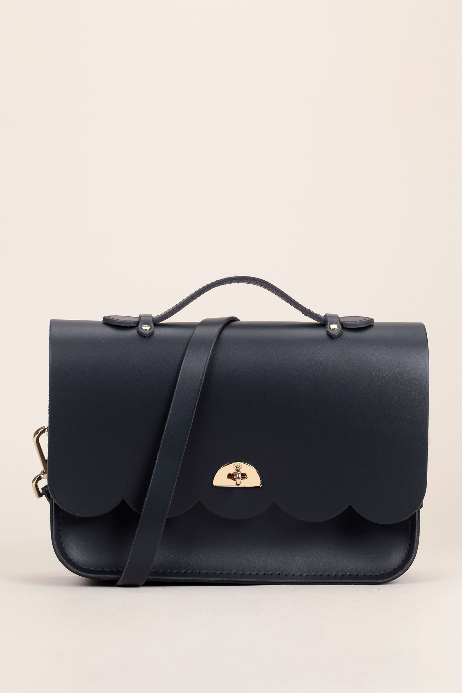 dae32bd784ba Cloud bag with handle navy - The Cambridge Satchel Company ...