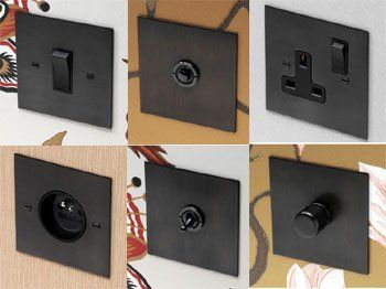 The Antique Bronze Range From Forbes And Lomax Switches Sockets And Dimmers Light Switches And Sockets Antique Bronze Switches