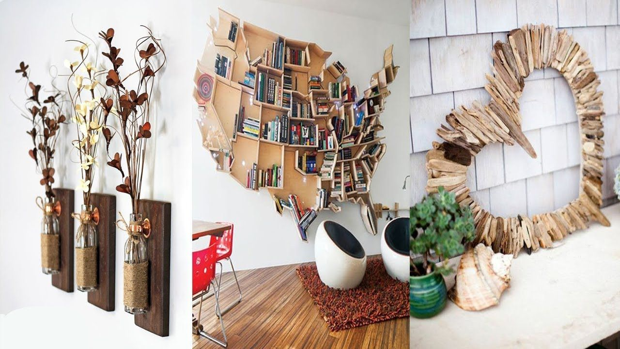 diy room decor 23 easy crafts ideas at home youtube diy at home