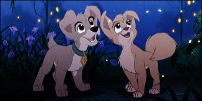 Scamp And Angel From Lady And The Tramp Ii Scamp S Adventure Lady And The Tramp Disney Animated Movies Disney Pixar Movies
