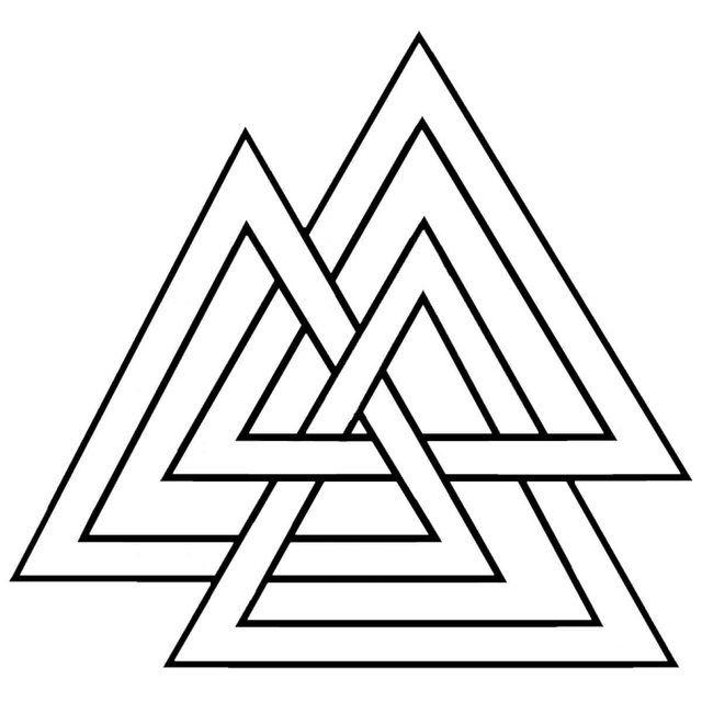 Ancient Viking Symbols Nordic Symbols For Warrior The Valknut Old Norse Valr Nordic Symbols Viking Symbols Ancient Viking Symbols