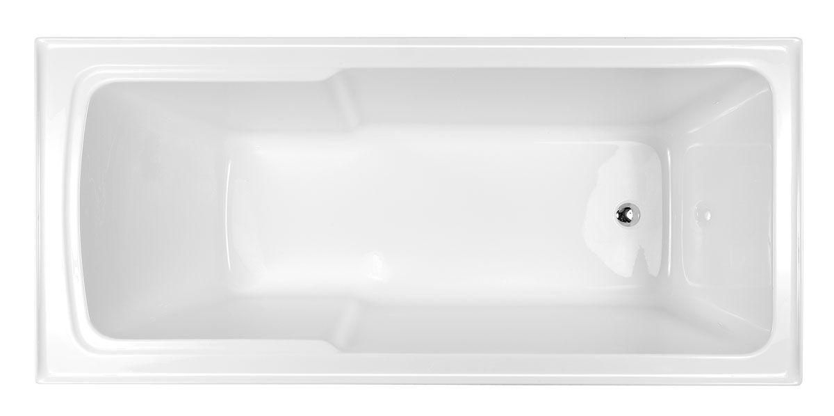 Posh Kensington 1510 x 820 Shower Bath Reece $500 acrylic (also