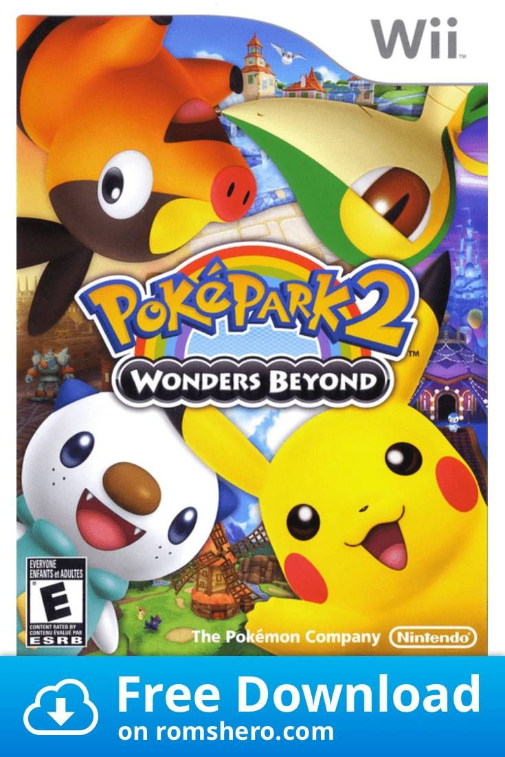 Download Pokepark 2 Wonders Beyond Nintendo Wii Wii Isos Rom Pokemon Video Games Wii Games Pokepark 2