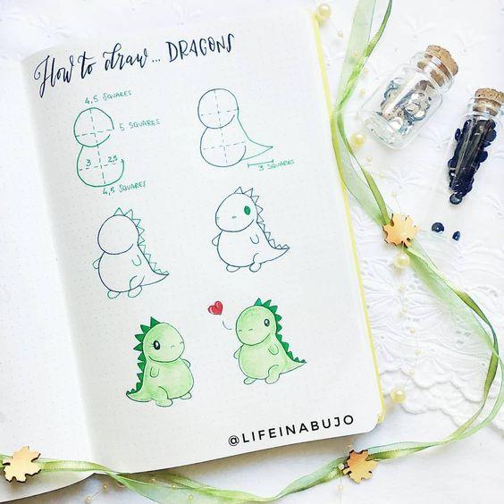 Bullet Journal Doodles – 30 Easy Tutorials! ⋆ Sheena of the Journal