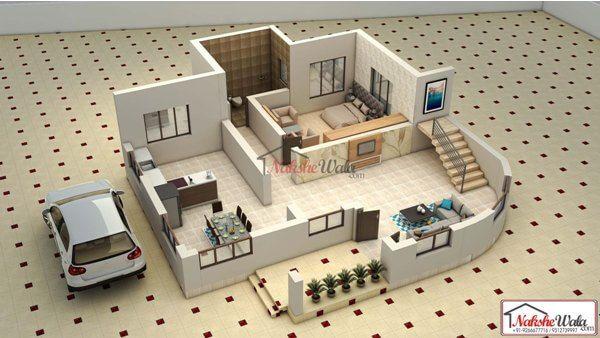 3d Floor Plans 3d House Design 3d House Plan Customized 3d Home Design 3d House Map 2bhk House Plan Floor Plan Design House Map