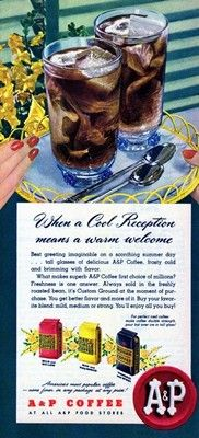 Vintage A & P Coffee Ad