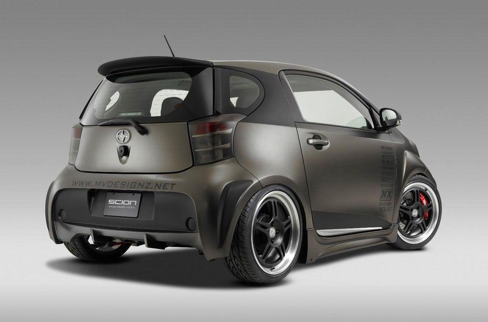 Toyota Pimps The Iq Scion Cars Toyota Subcompact Cars