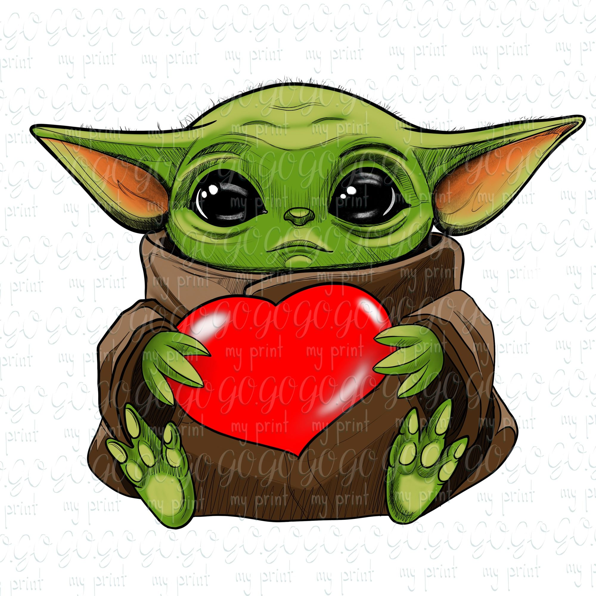 Green Baby Png Shirt Sublimation Star Baby Clipart Green Baby Etsy In 2021 Valentine Cartoon Yoda Png Cute Cartoon Wallpapers