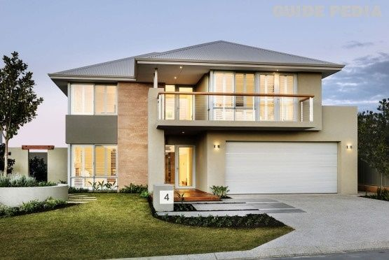Amazing design for beautiful modern two story house for Modern two story homes