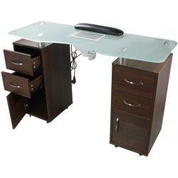Table Manucure Double Colonne Avec Aspirateur Table Manucure