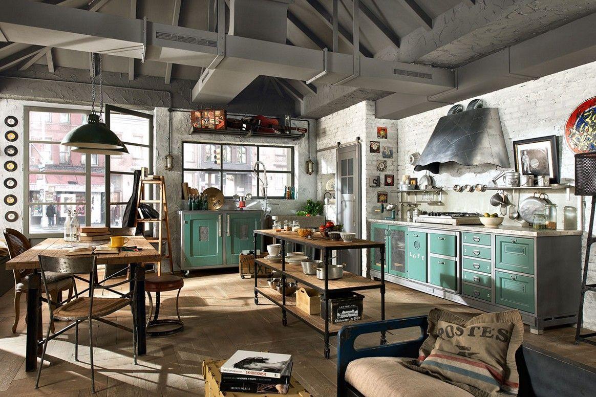 Living Room Industrial Revolution Interior Design
