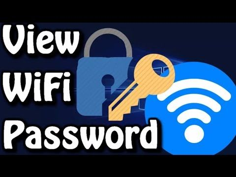 VIEW SAVED WIFI PASSWORD ON WINDOWS 7|8|8 1|10  | VIEW SAVED