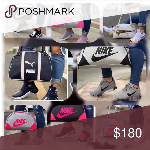 Matching purse and shoes sets Name brand purse and shoe sets