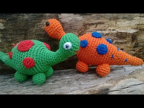 Amigurumi Dinosaurier Häkeln Häkeltiere Anleitungen Pinterest