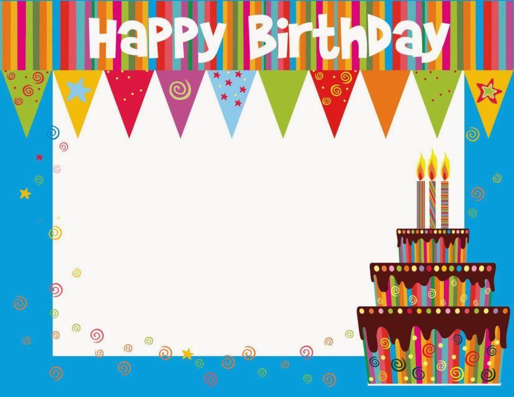 Free Printable Birthday Cards Ideas Greeting Card Template Free Printable Birthday Cards Birthday Card Template Free Happy Birthday Cards Printable