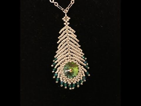 Photo of Peacock feather pendant