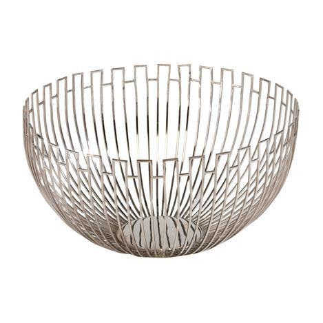 Geometric Wire Bowl | decor ideas | Pinterest | Bowls, Decorative ...
