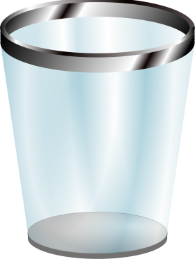 Png Web Icons With Transparent Background Free Clipart Download Clip Art Recycling Bins Trash Can