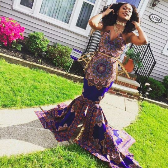 Girl's African-Themed Dress Called 'Tacky For Prom' By