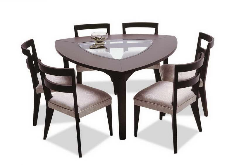 Triangle Shaped Tables With Modern Design Unique Dining Tables Unique Dining Room Table Furniture Dining Table