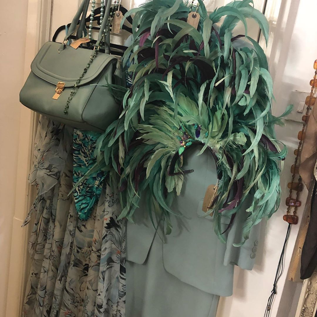 Blue and green should never be seen who says #vintagefashion #retroclothing #ladiesvintage #accessories #handbags #shoes #luxuryvintage #designer #luggage #furniture #collectibles #industrialdecor #farmhouse #salvage #gardendesign #upcycling #mouroxiii #vintageatjuju #pimmsboutique #maidstone #rochester
