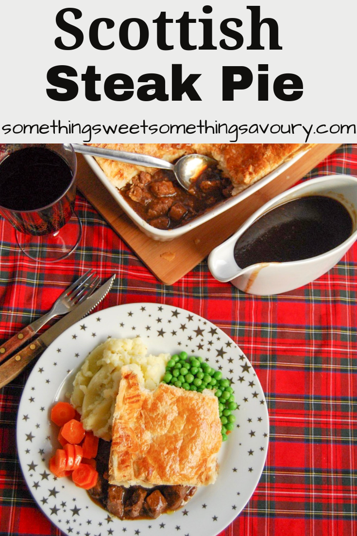 Scottish Steak Pie: This homemade Scottish Steak Pie is ...
