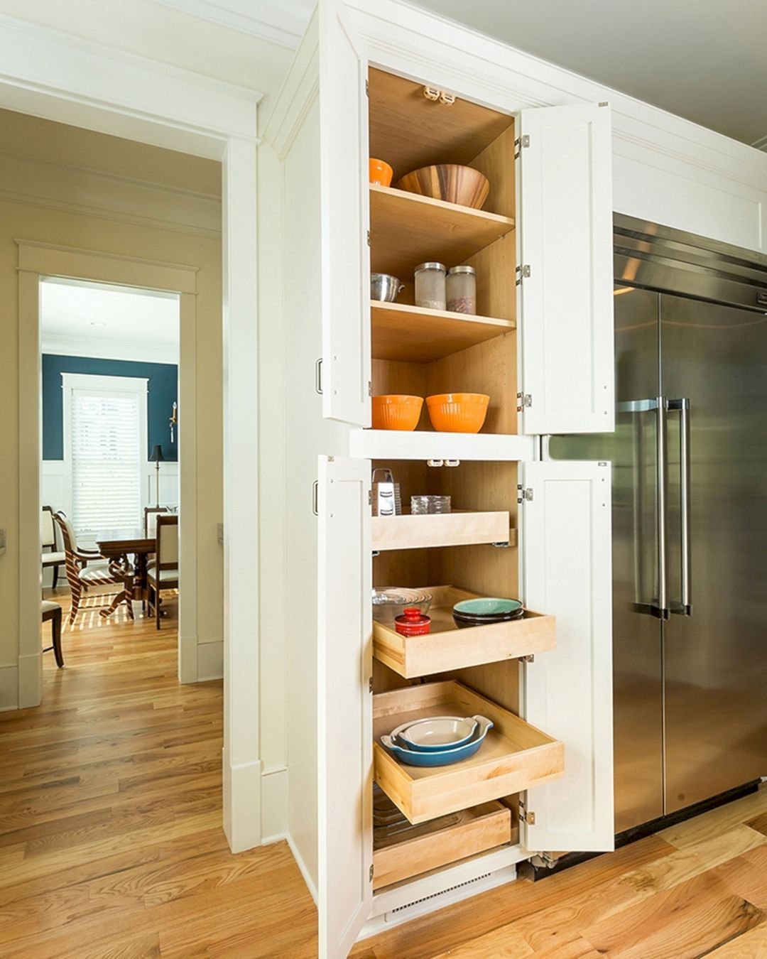 15 Simple Kitchen Cabinet Ideas That Inspire You Teracee Tall Kitchen Pantry Cabinet Simple Kitchen Cabinets Tall Kitchen Cabinets
