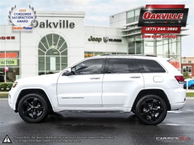 2015 Jeep Grand Cherokee Overland Loaded Navi Back Up Cam