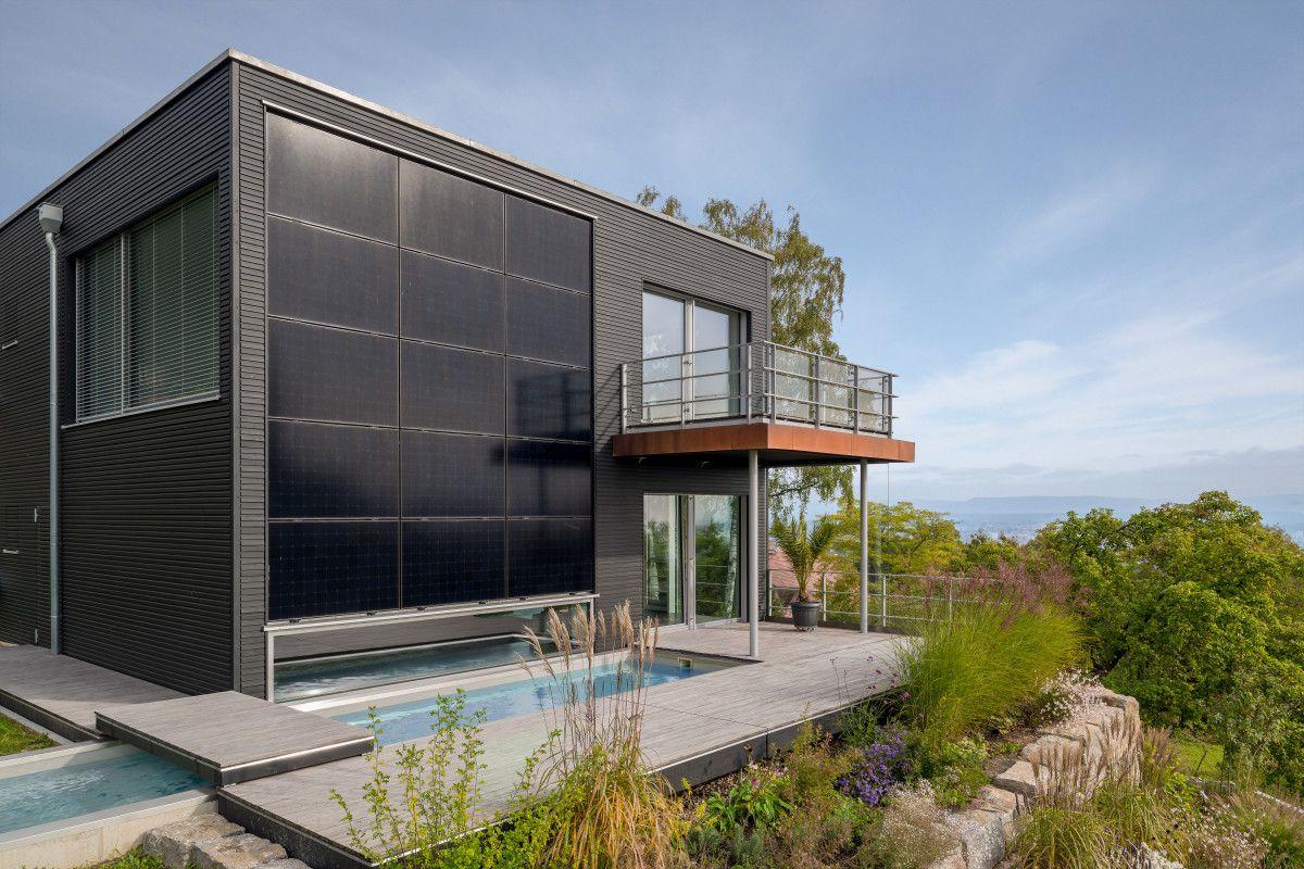 bio designhaus pawliczec von baufritz einfamilienhaus. Black Bedroom Furniture Sets. Home Design Ideas