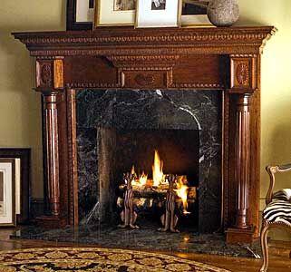 Fireplace Wood Fireplace Surrounds Fireplace Mantel Surrounds
