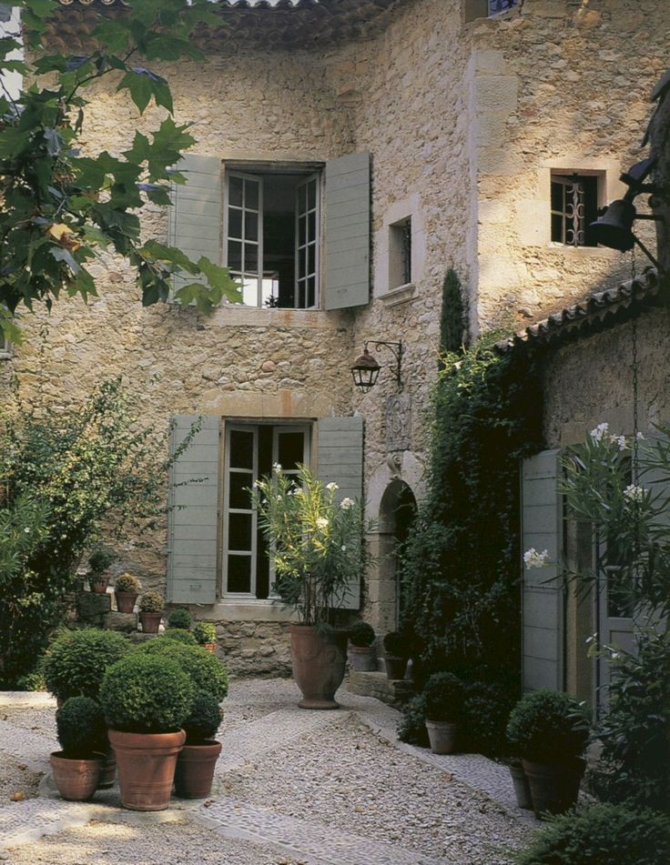 50 Amazing Ideas French Country Garden Decor /