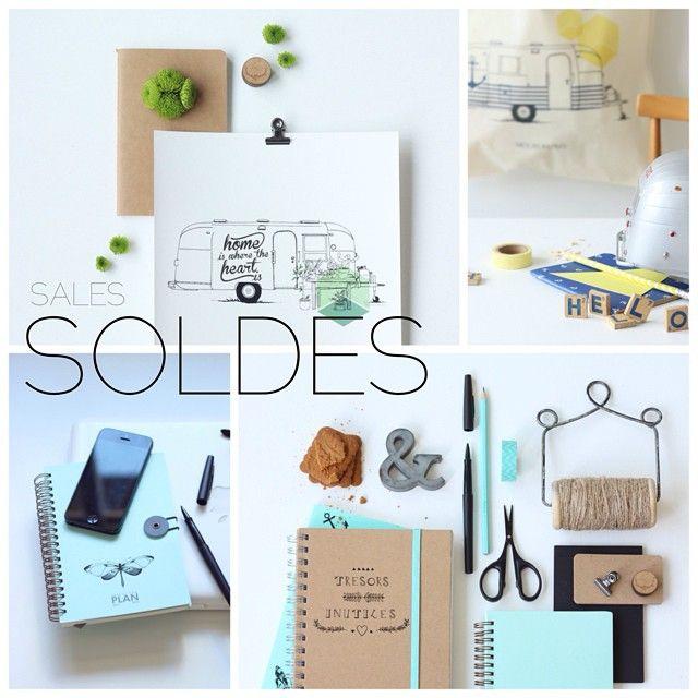 * SOLDES / SALES * sur www.tresorsinutiles.com !  Oui oui, retrouvez les nouveautés mais aussi des articles soldés sur le shop ! #soldes #sales Belle crazy journée!!