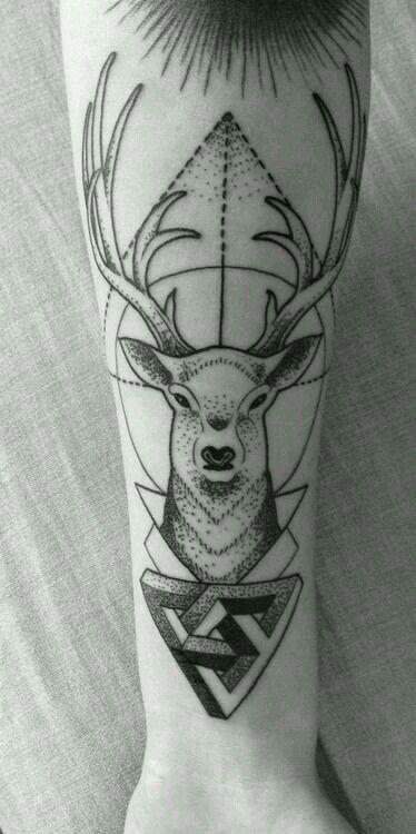pin by miranda lake studio on ink tatouage cerf tatouage idee tattoo. Black Bedroom Furniture Sets. Home Design Ideas